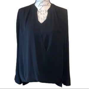 41 Hawthorn 'Laura' crossover wrap dressy blouse